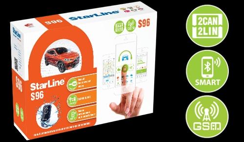 StarLine S96 BT GSM с установкой